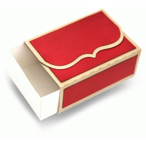 folding bracket flap sliding box