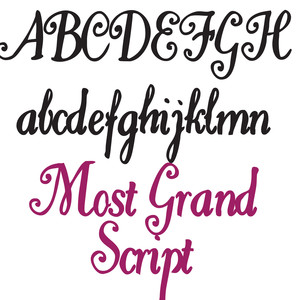ld most grand script