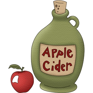 apple cider jug
