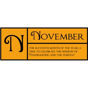 n is for november pc