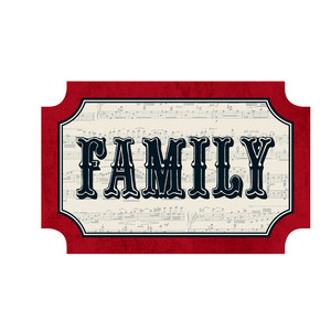 family christmas tag