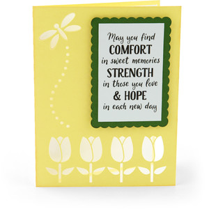 sympathy card comfort strength hope