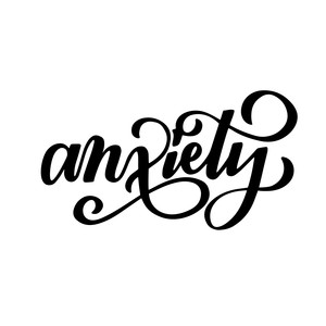anxiety - essential oil label