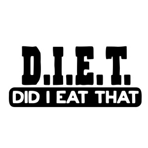diet: did i eat that