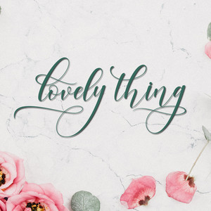 lovely thing font