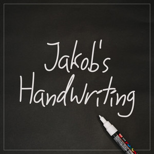 jakob's handwriting font