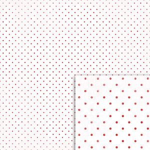 red and white polka dot background paper