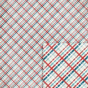 nautical plaid background paper