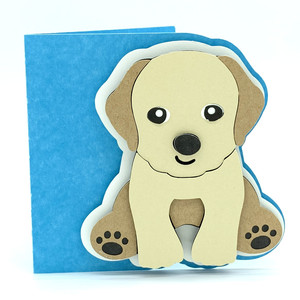 labrador dog card