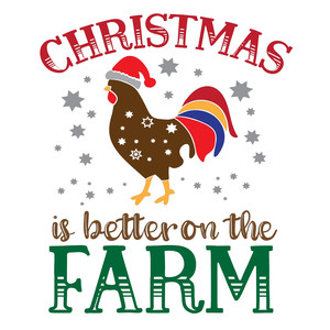 christmas is better on the farm