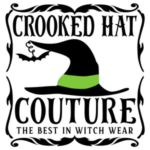 crooked hat coutre sign