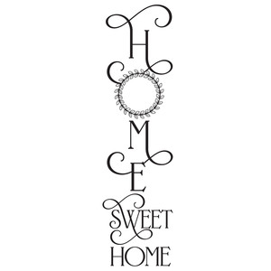 wreath home sweet home