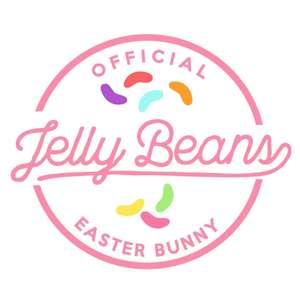 easter jelly bean label & tag