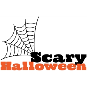 scary halloween web