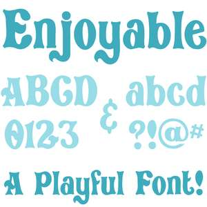 enjoyable font