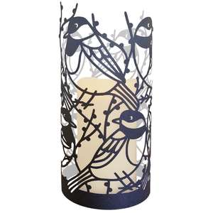 little chickadee bird lantern