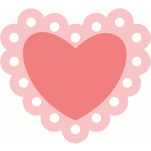 simple heart valentine
