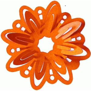 3d pop up petals flower