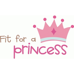 imaginicse fit for a princess