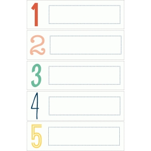 echo park number labels