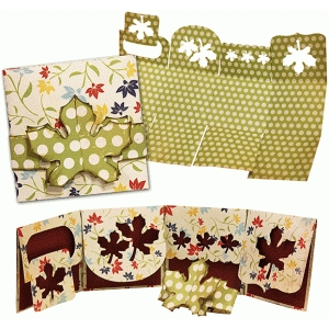 brag book: multi flap leaves