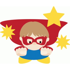 flying super boy