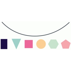 build a shaped banner set