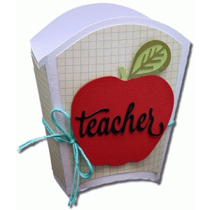 3d teacher treat box with mats