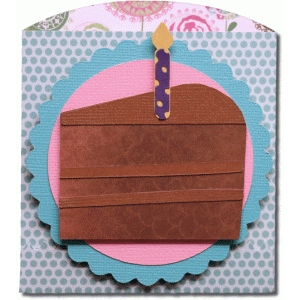 cake short envelope bag