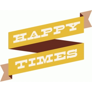 happy times banner