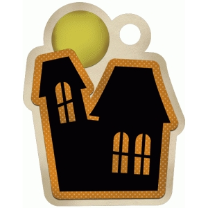 halloween haunted house tag