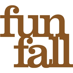 'fun fall' phrase