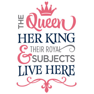 the queen king live here