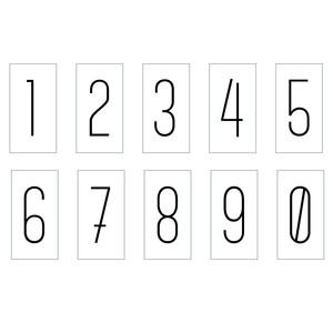 lightbox numbers