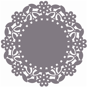 doily floral