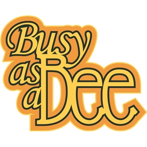 busy as a bee phrase