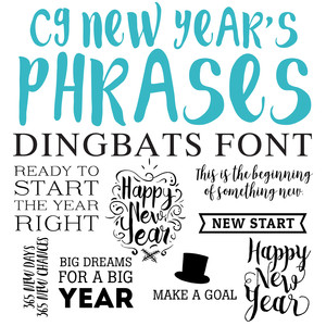 silhouette design store view design 237985 cg new year s phrases