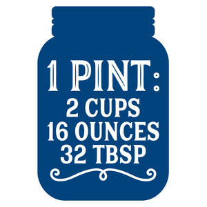 measurement conversion 1 pint