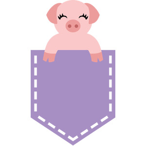 pig in the pocket