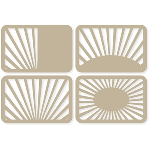 4x6 sunburst life cards