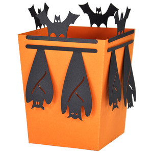 hanging bat popcorn treat box
