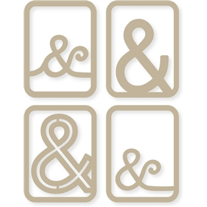 ampersand 3x4 cards