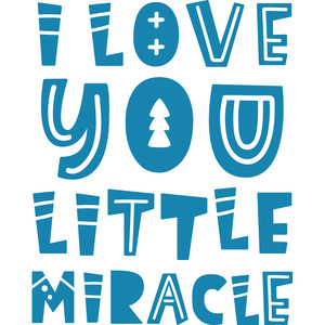love you little miracle quote