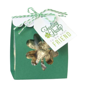 four leaf clover treat wrap
