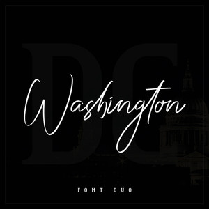 washington font duo