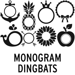 monogram dingbats