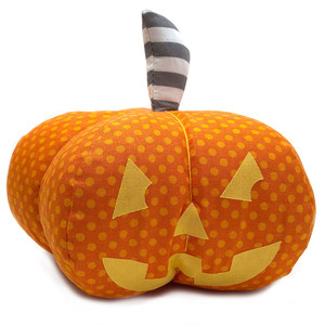 jack o' lantern pumpkin sewing pattern