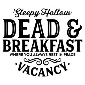 sleep hollow dead & breakfast
