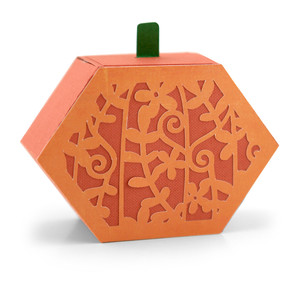 3d ornate pumpkin