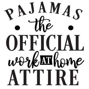 pajamas work at home attire
